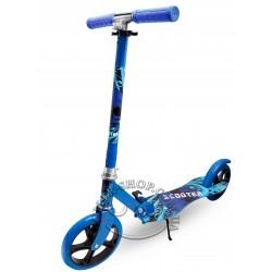 Детский самокат с большими колесами Scooter Bright