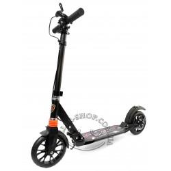 Самокат для взрослых и детей Urban Scooter X9 с резиновыми колесами с дисковыми тормозами