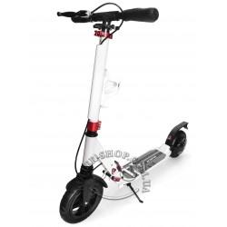 Самокат для взрослых и детей Scooter LUX Hummer с надувными колёсами