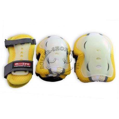 Защита, MICRO, светящиеся, силиконовые, наколенники, налокотники, перчатки