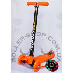 Самокат Maxi Micro Scooter со светящимися колесами