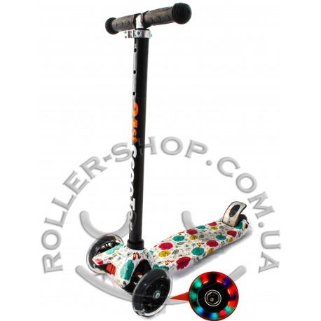 Самокат Maxi Micro 21st Scooter с рисунком