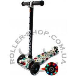 Самокат Maxi Micro Scooter с рисунком