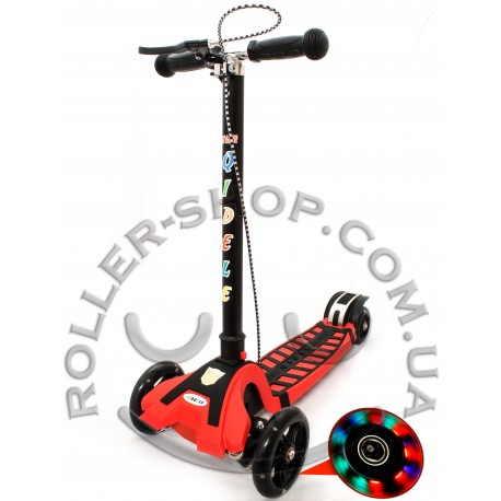Самокат Scooter Qidele c амортизаторами