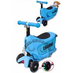 Самокат-беговел Callomi Scooter 3в1