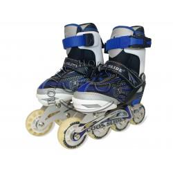 Роликовые коньки Cool Slide с широкими колесами